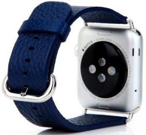 Кожаный ремешок для Apple Watch 42mm (Серия 1/2/3) / 44mm (Серия 4/5) COTEetCI W1 Watch Band for Premier Blue (CS2031-BL)