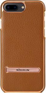 Кожаный чехол с подставкой для iPhone 8 Plus / 7 Plus (5.5'') Nillkin M-Jarl Series Brown
