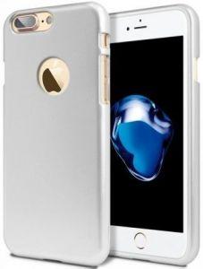 "TPU чехол Mercury iJelly Metal series для Apple iPhone 7 plus / 8 plus (5.5"") Серебряный"
