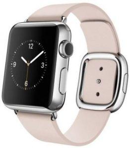 Кожаный ремешок для Apple Watch 42mm (Серия 1/2/3) / 44mm (Серия 4/5) COTEetCI W5 NOBLEMAN Pink (WH5201-PK)