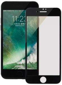 Защитное 3D-стекло для iPhone 7 Plus / 8 Plus COTEetCI Glass silk screen printed full-screen Black (GS7108-BK-WH)