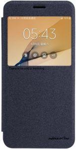 Чехол для Samsung G610F Galaxy J7 Prime (2016) Nillkin Sparkle Series Black