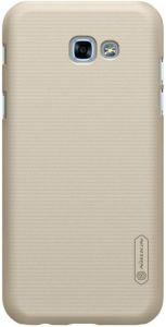 Чехол для Samsung A320 Galaxy A3 (2017) Nillkin Super Frosted Shield Gold
