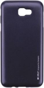 TPU чехол Mercury iJelly Metal series для Samsung G610F Galaxy J7 Prime (2016) Черный