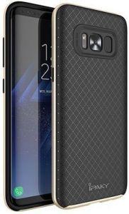 Чехол для Samsung G955 Galaxy S8 Plus iPaky TPU+PC Black/Gold