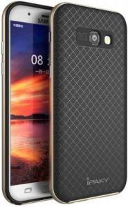 Чехол для Samsung A320 Galaxy A3 (2017) iPaky TPU+PC Black/Gold