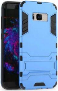 Ударопрочный чехол-подставка для Samsung G955 Galaxy S8 Plus Transformer Navy