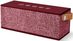 Акустическая система Fresh 'N Rebel Rockbox Brick Fabriq Edition Bluetooth Speaker Ruby (1RB3000RU)