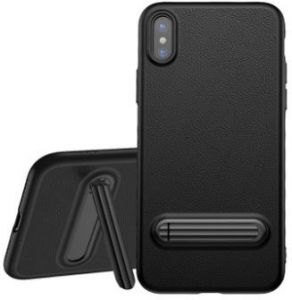 Чехол для iPhone X Baseus Happy Watching Supporting Case Black (WIAPIPH8-LS01)