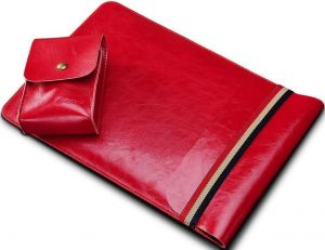 Чехол для MacBook 12'' (2015-2017) / Air 11'' (2011-2015) COTEetCI Leather Sleeve Bag 11'' Red (CS5127-RD)