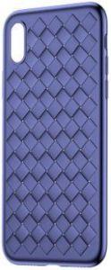 Чехол для iPhone X Baseus BV Weaving Case Blue (WIAPIPHX-BV03)