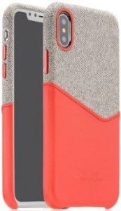 Чехол для iPhone X COTEetCI Max-Up Liquid Silicon Case Red (CS8015-RD)