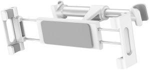 Автодержатель (до 11'') Baseus Back Seat Car Mount Holder White/Silver