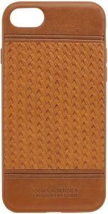 Кожаный чехол для iPhone 8/7 (4.7'') Santa Barbara Polo & Racquet Club Chevron Brown (SB-IP7SPCHR-BRW)