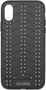 Чехол для iPhone X/XS Santa Barbara Polo & Racquet Club Armor Black (SB-IPXSPARM-BLK)