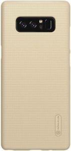Чехол для Samsung Galaxy Note 8 (N950) Nillkin Super Frosted Shield Gold (+ пленка)