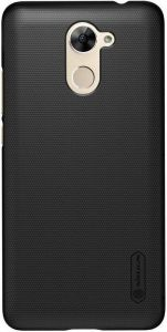 Чехол для Huawei Y7 Prime Nillkin Super Frosted Shield Black (+ пленка)