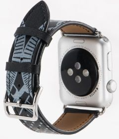 Кожаный ремешок для Apple Watch 38/40mm COTEetCI Fashion W13 Leather Black (WH5218-BK)