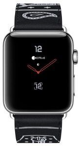 Кожаный ремешок для Apple Watch 42mm (Серия 1/2/3) / 44mm (Серия 4/5) COTEetCI Fashion W13 Leather Black (WH5219-BK)