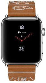 Кожаный ремешок для Apple Watch 38mm (Серия 1/2/3) / 40mm (Серия 4/5) COTEetCI Fashion W13 Leather Brown (WH5218-KR)