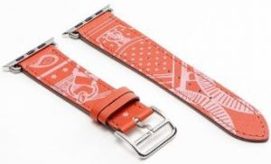 Кожаный ремешок для Apple Watch 38mm (Серия 1/2/3) / 40mm (Серия 4/5) COTEetCI Fashion W13 Leather Red (WH5218-RD)