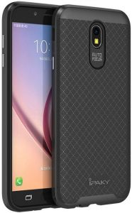 Чехол iPaky TPU+PC для Samsung J530 Galaxy J5 (2017) Черный / Серый