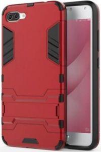 Ударопрочный чехол-подставка для Asus Zenfone 4 Max (ZC554KL) Transformer Dante Red