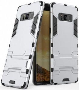 Ударопрочный чехол-подставка для Samsung Galaxy Note 8 (N950) Transformer Satin Silver