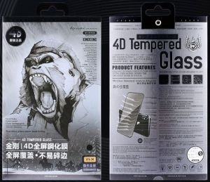 Защитное 3D-стекло для iPhone X/XS WK Kingkong 4D Curved Tempered Glass Black (WTP-010)