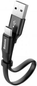 Кабель Baseus Nimble Type-C Portable Cable 23CM Black (CATMBJ-01)