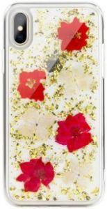Чехол для iPhone X SwitchEasy Flash Case Gold Flower (GS-81-444-16)