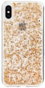Чехол для iPhone X SwitchEasy Flash Case Rose Gold Foil (GS-81-444-18)