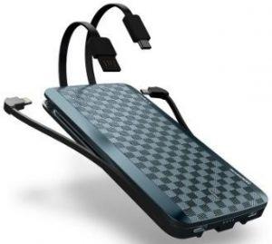 Внешний аккумулятор iWalk Scorpion 12000mAh Blue (UBT12000X)