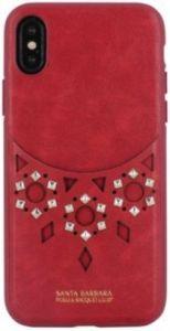 Чехол для iPhone X/XS Santa Barbara Polo & Racquet Club Brynn Case Red (SB-IPXSPBRN-RED)