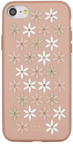 Чехол для iPhone 8/7 (4.7'') Luna Aristo Daisies Case Pink (LA-IP8DAS-PNK)