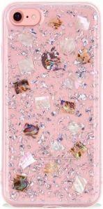 Чехол для iPhone 8/7 (4.7'') SwitchEasy Flash Case Silver Seashell (GS-54-444-40)