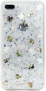 Чехол для iPhone 8 Plus / 7 Plus (5.5'') SwitchEasy Flash Case Silver Seashell (GS-55-444-40)