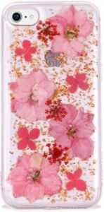 Чехол для iPhone 8/7 (4.7'') SwitchEasy Flash Case Rose Gold Flower (GS-54-444-15)