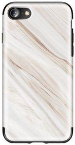 Чехол для iPhone 8 / 7 (4.7'') Rock Origin Series (Textured marble) White Marble