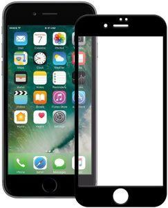 Защитное 3D-стекло для iPhone 8+/7+ (5.5'') WK Kingkong 4D Curved Tempered Glass Black (WTP-010)