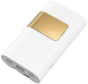Внешний аккумулятор iWalk Secretary II Plus 10000mAh White (SBS100C)