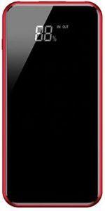 Внешний аккумулятор с беспроводной зарядкой Baseus full screen bracket wireless charge Power Bank 8000mAh Red (PPALL-EX09)