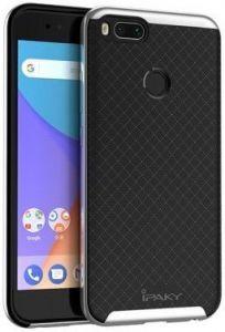 Чехол iPaky TPU+PC для Xiaomi Mi 5X / Mi A1 Черный / Серебряный