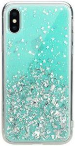 Чехол для iPhone XS MAX (6.5'') Switcheasy Starfield Case Mint (GS-103-46-171-57)