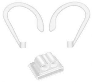 Набор держателей для AirPods 2/1 COTEetCI Airpods Sports Wrist Fit White (CS8117-WH)