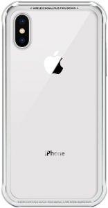 Стеклянный чехол для iPhone XS MAX (6.5'') Switcheasy iGlass Case Silver (GS-103-46-170-26)