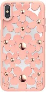Чехол для iPhone XS MAX (6.5'') Switcheasy Fleur Case Pink (GS-103-46-146-12)