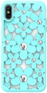 Чехол для iPhone XS MAX (6.5'') Switcheasy Fleur Case Mint (GS-103-46-146-57)