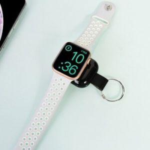 Внешний аккумулятор (700mAh) для Apple Watch 5/4/3/2/1 COTEetCI Wireless Power Bank Black (PB5120-BK)