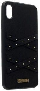 Чехол для iPhone X/XS Santa Barbara Polo & Racquet Club Abbott Midnight (SB-IP5.8SPABT-BLK)